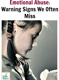 Childhood Emotional Abuse: Warning Signs We Often Miss