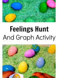 Identify and Express Feelings with Plastic Easter Eggs