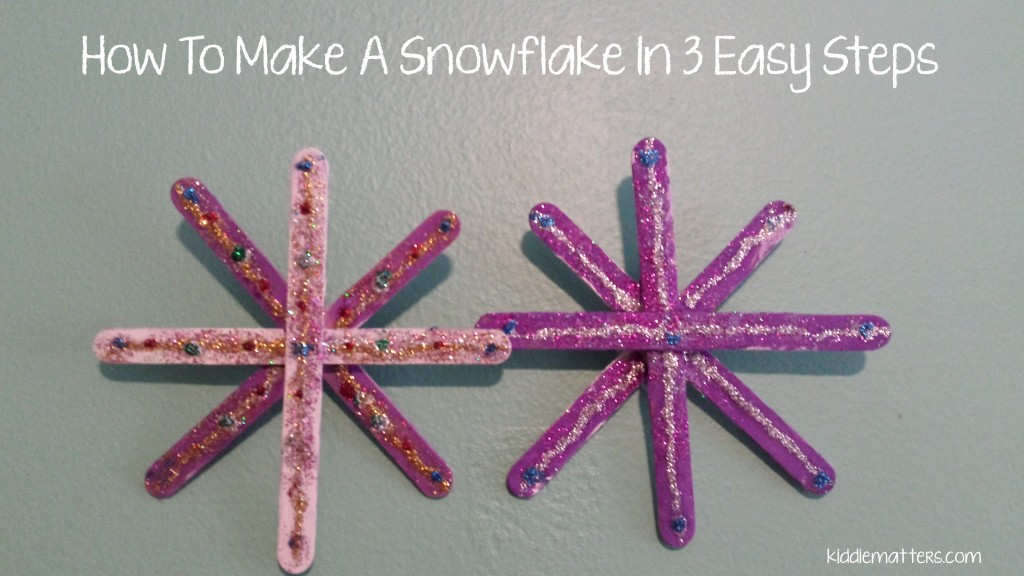3 steps snowflake