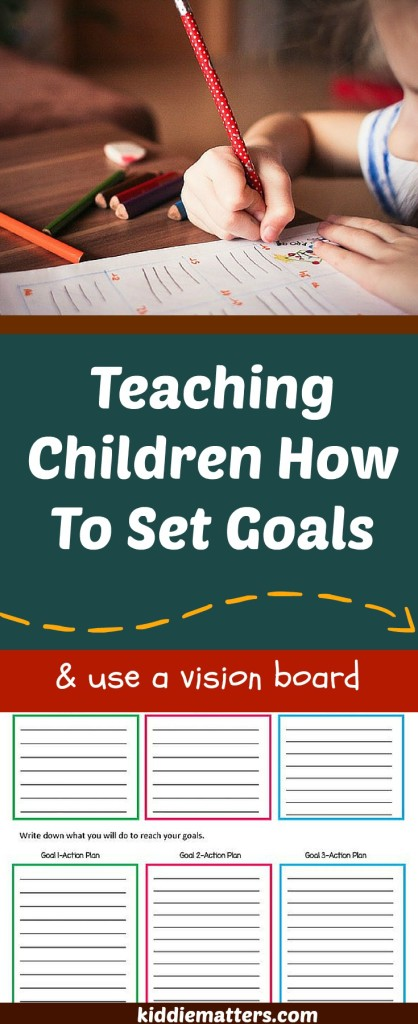 Teaching Children To Set Goals - Copy
