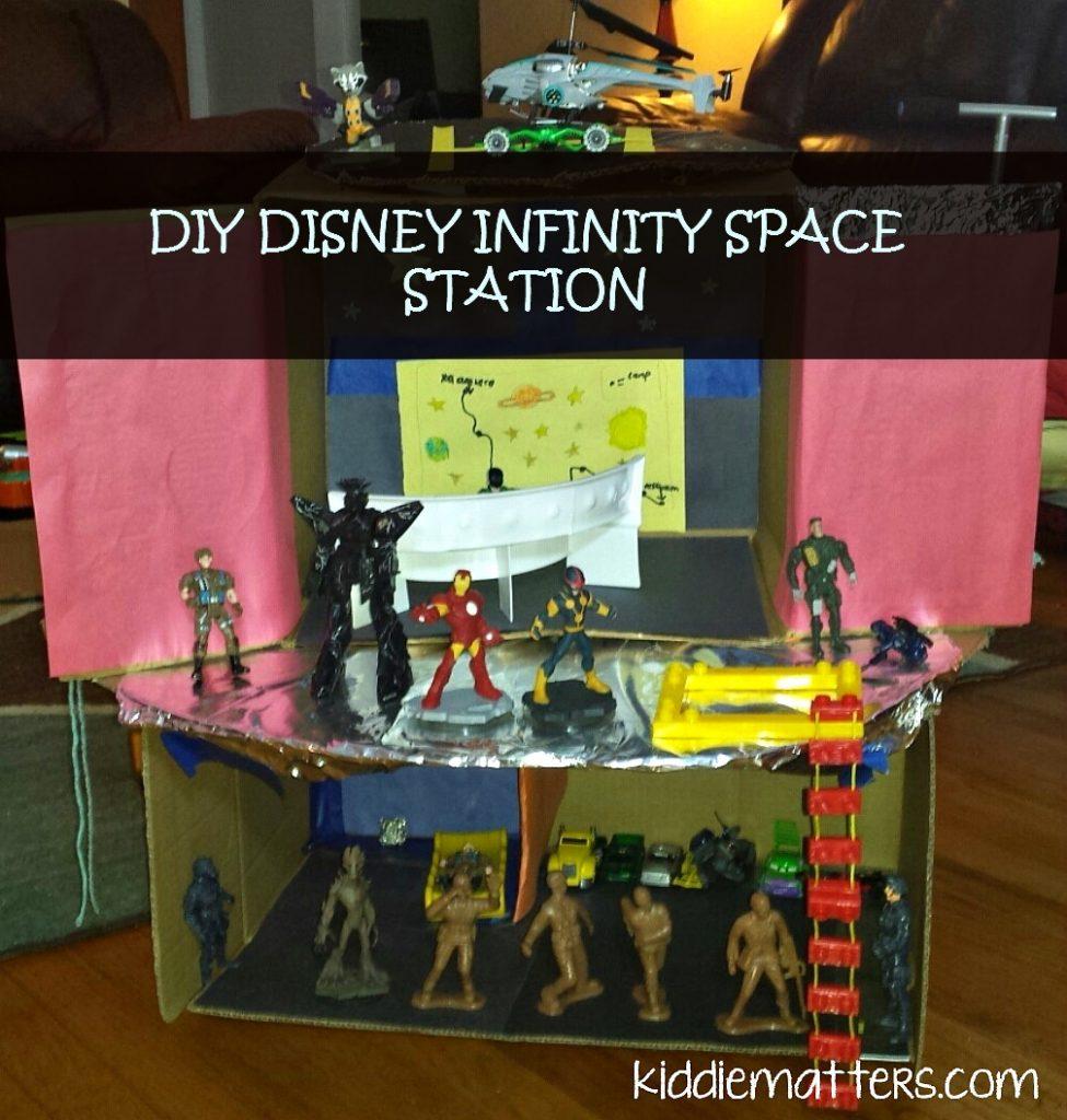 Kiddie Matters-DIY Disney Infinity Space Station