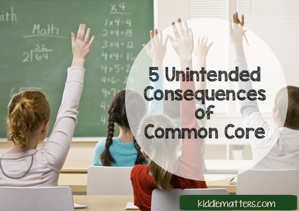 5 Unintended Consequences of Common Core