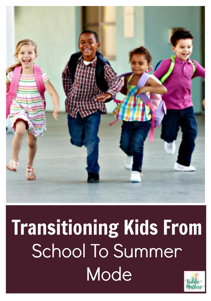 School transition to summer vacation
