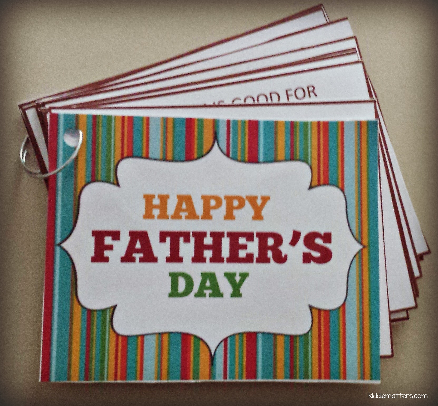 fathers day coupon book picmonkey