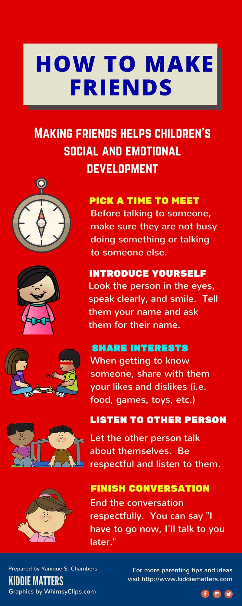 Infographic: Teaching Children How To Make Friends