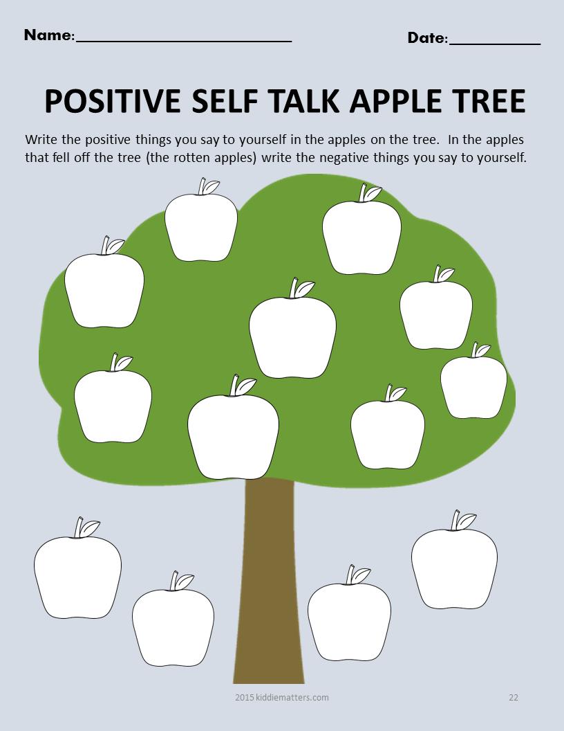 Fall Themed SocialEmotional Skills Building Activities For – Self Esteem Worksheets for Kids