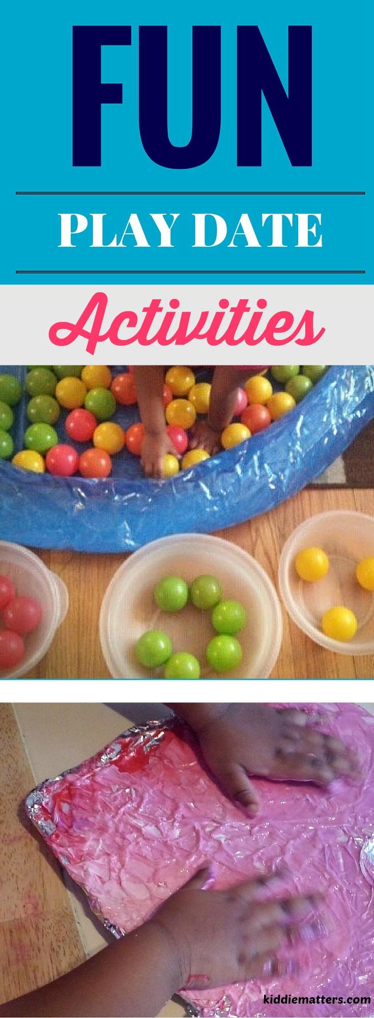 5 Fun Indoor Play Date Activities For PreSchoolers