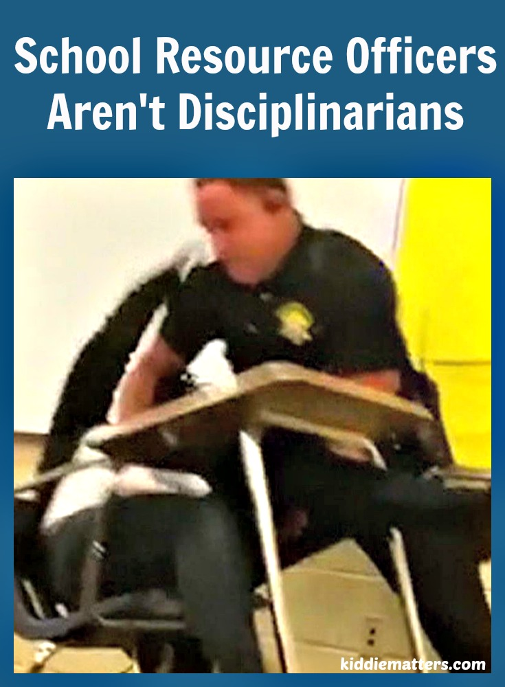 Where Are The Teachers: School Resource Officers Aren't Disciplinarians