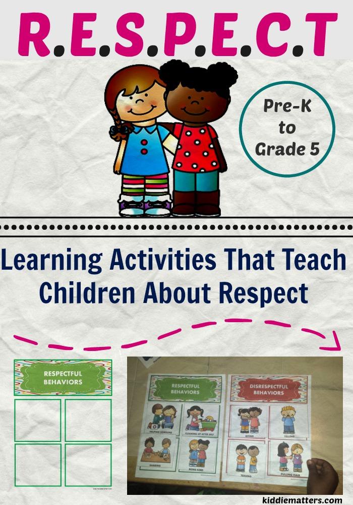 Learnimg Activities That Teach Children About Respect