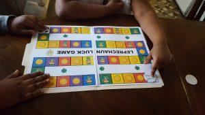 St. Patrick's Day social skills games