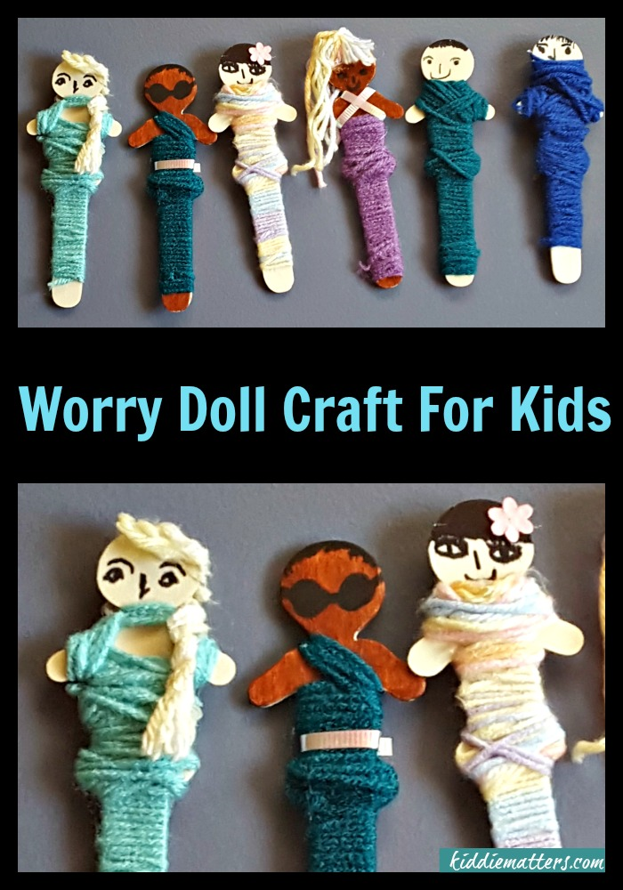 Quick and Easy Worry Doll Craft