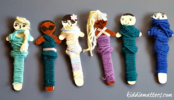 Quick and Easy Worry Doll Craft For Kids