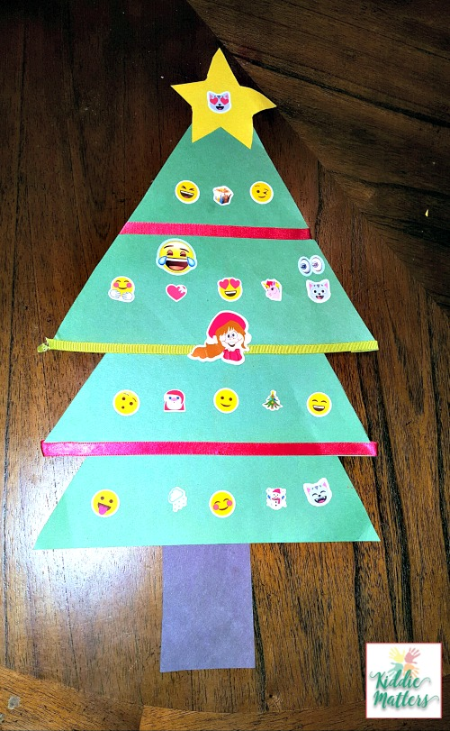 Feelings Recognition Christmas Tree Activity Kiddie Matters