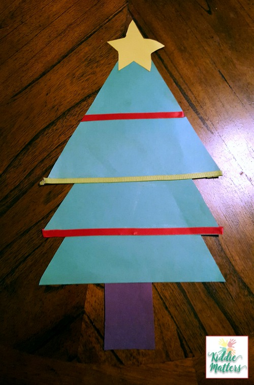Feelings Recognition Christmas Tree Activity