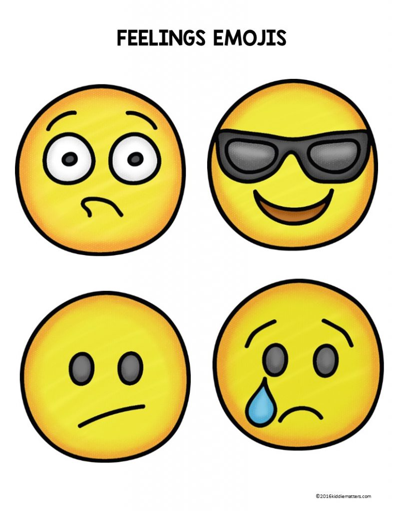 image about Emoji Feelings Printable named Emoji View Faces: Emotions Attractiveness - Kiddie Points