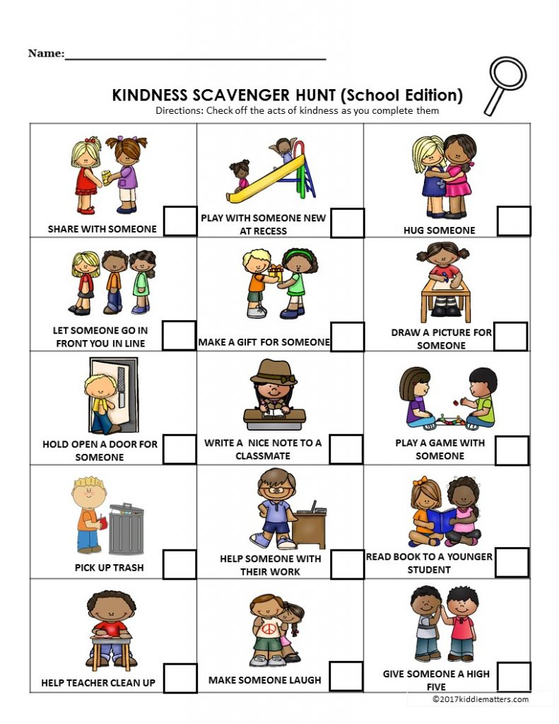 Acts of Kindness Ideas for Kids