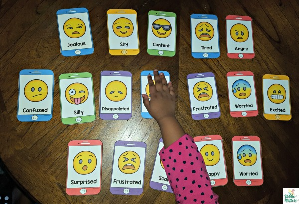 Emotion Regulation: Feelings Identification Activities