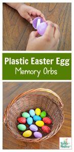Plastic Easter Egg Memory Orbs
