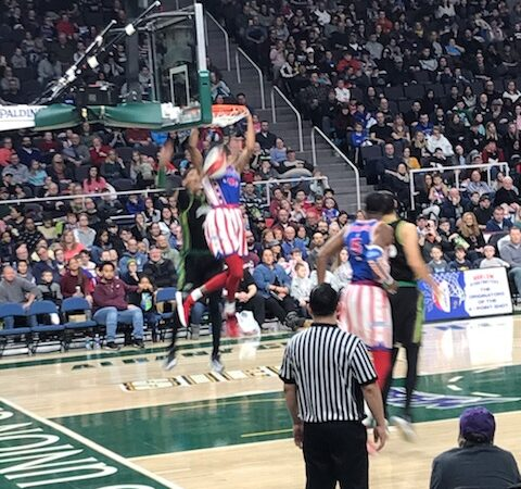 Harlem Globetrotters: Encouraging Kids to Push Their Limits
